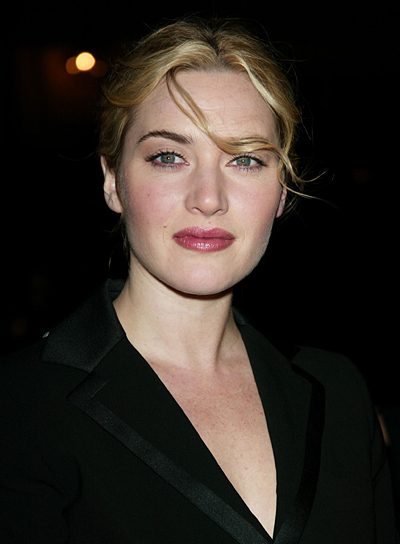 Kate Winslet Blonde Updo