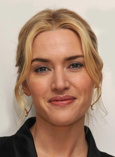Kate Winslet Romantic, Blonde Updo