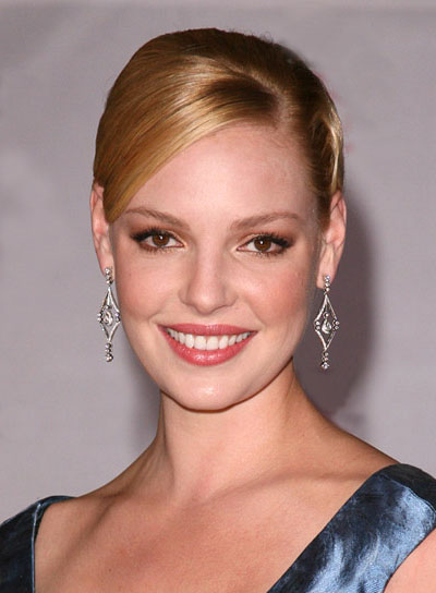 Katherine Heigel Blonde, Sophisticated Updo