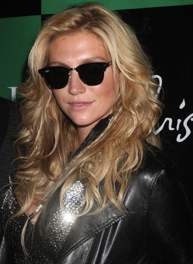 Ke$ha Curly, Blonde Hairstyle