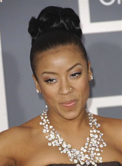 Keyshia Cole Long, Formal Updo