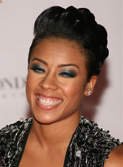 Keyshia Cole Short, Formal Hairstyle