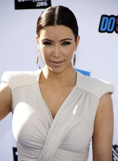 Kim Kardashian Chic, Black Ponytail