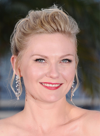 Kirsten Dunst Chic, Romantic, Blonde, Party Updo