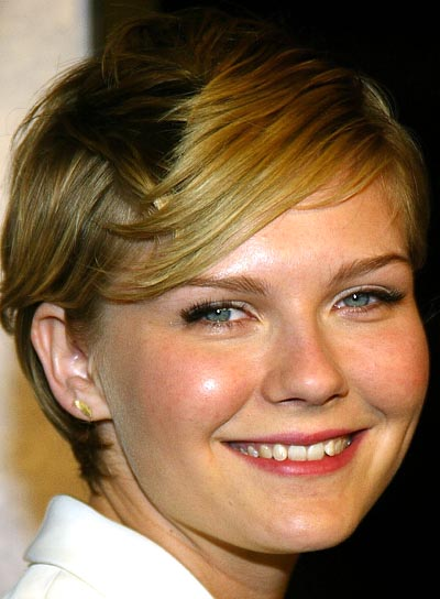 Kirsten Dunst Short Hairstyle with Bangs