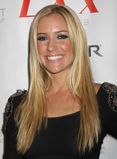 Kristin Cavallari Long, Straight Hairstyle