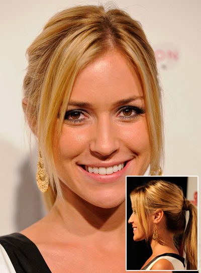 Kristin Cavallari Chic, Straight, Blonde Ponytail