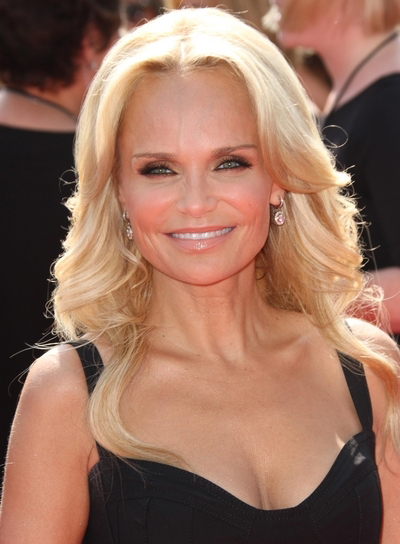 Kristin Chenoweth Long, Wavy, Romantic, Blonde Hairstyle