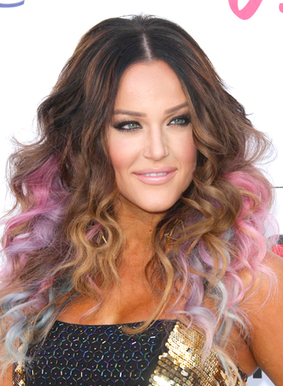 Long Curly Funky Hairstyles Beauty Riot