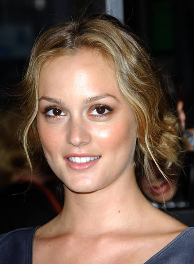 Leighton meester hair updo