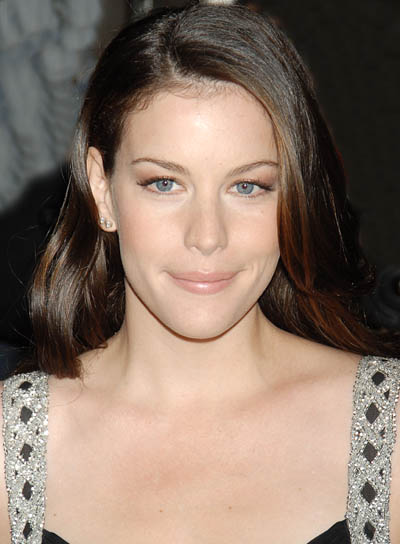 Liv Tyler Long, Straight, Brunette Hairstyle