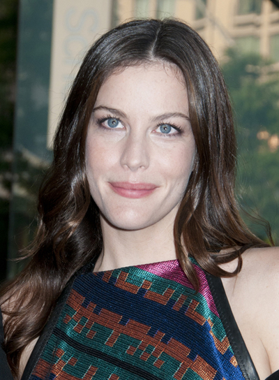 Liv Tyler Long, Straight, Romantic, Brunette Hairstyle