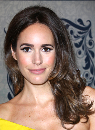 Louise Roe's Long, Sexy, Tousled, Wavy Hairstyle