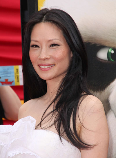 Lucy Liu Straight, Black Hairstyle