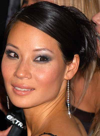 Lucy Lui Straight, Chic Updo