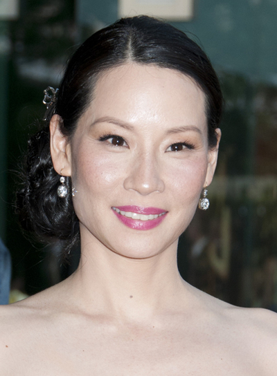 Lucy Liu Sophisticated, Chic, Prom Updo