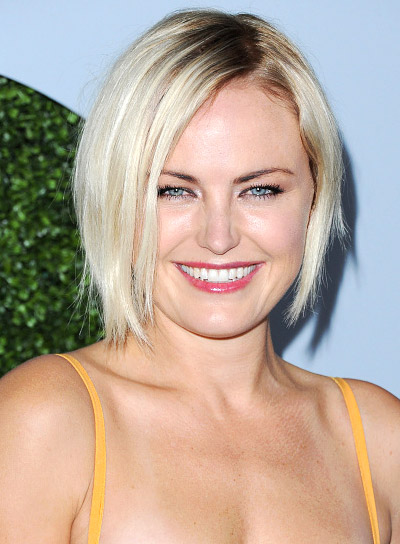 Malin Akerman with a Medium, Blonde, Edgy, Bob Hairstyle Pictures
