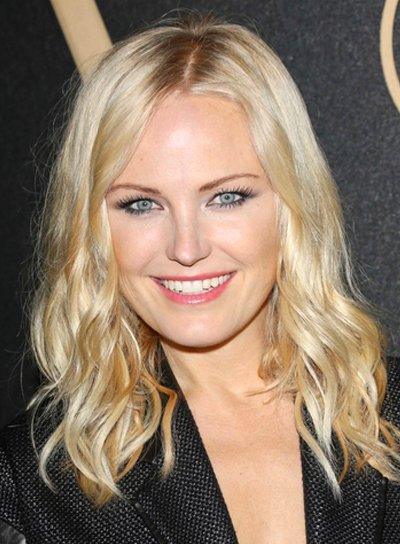 Malin Akerman's Long, Wavy, Blonde, Tousled Hairstyle