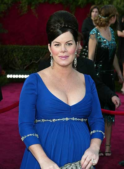 Marcia Gay Harden Sophisticated, Black Updo with Braids and Twists