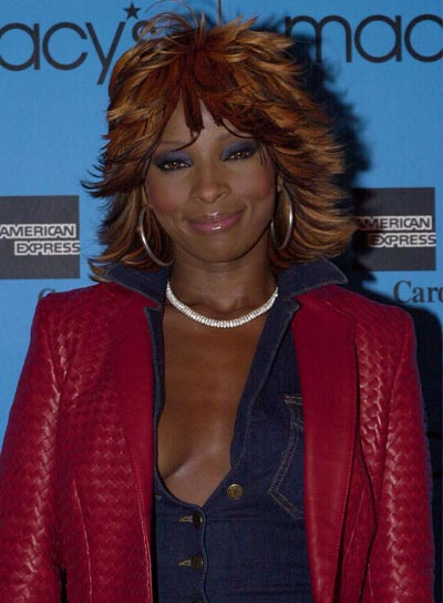 Mary J. Blige Funky, Layered Shag