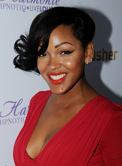 Astounding Meagan Good Beauty Riot Short Hairstyles Gunalazisus