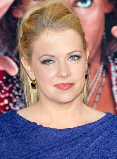 Melissa Joan Hart's Blonde, Long, Party, Ponytail Hairstyle