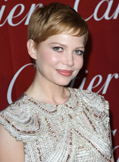 Michelle Williams Short, Chic Hairstyle