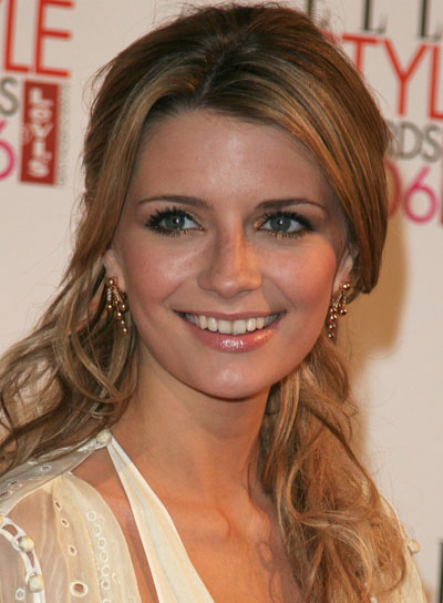 Mischa Barton Long, Curly, Romantic Hairstyle