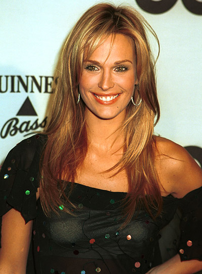 Molly Sims Long, Blonde Hairstyle