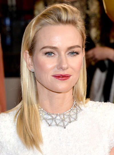 Naomi Watts with a Long, Straight, Blonde, Edgy Hairstyle PicturesNaomi Watts Long, Straight, Blonde, Edgy Hairstyle