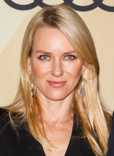 Naomi Watts' Long, Straight, Blonde, Sophisticated Hairstyle