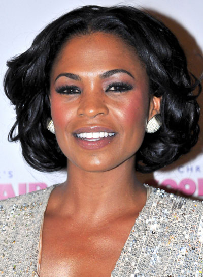 Nia Long Short, Wavy, Sexy, Black Bob