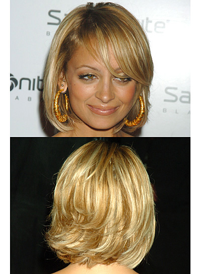 Nicole Richie Short, Straight, Blonde Bob - Nicole Richie - Beauty Riot