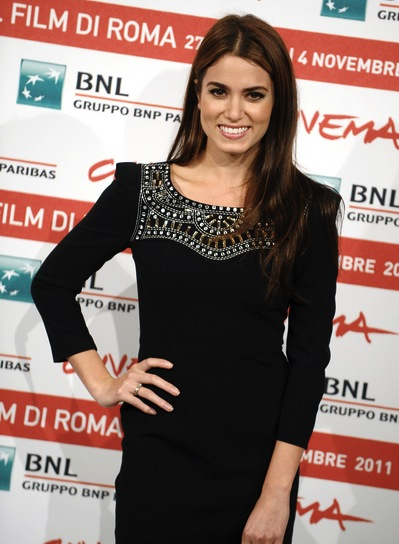 Nikki Reed Long, Straight, Sexy, Brunette Hairstyle