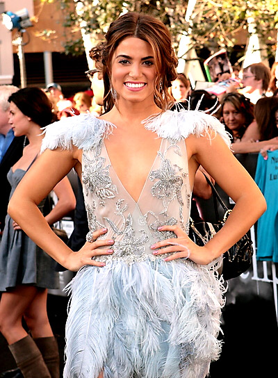 Nikki Reed Romantic, Brunette Updo