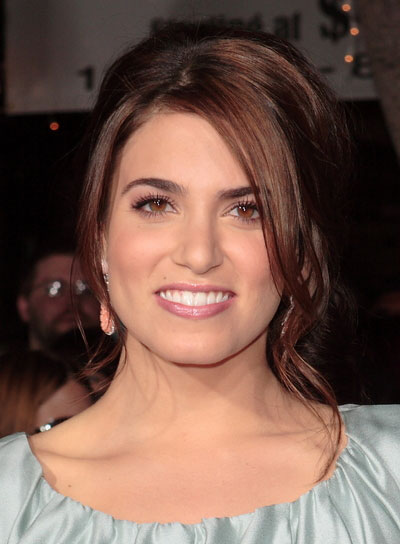 Nikki Reed Sophisticated, Brunette Updo