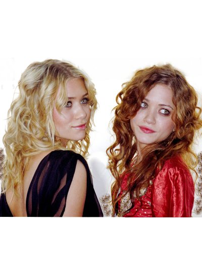 Olsen Twins Romantic, Curly Hairstyles for Prom