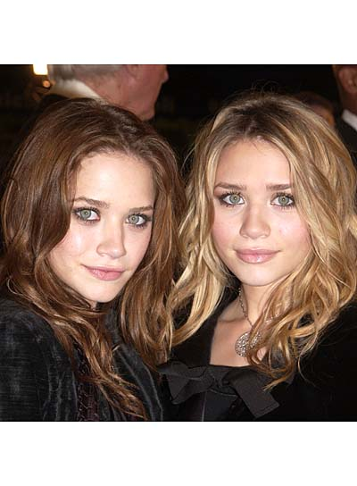 Olsen Twins Romantic, Curly Hairstyles