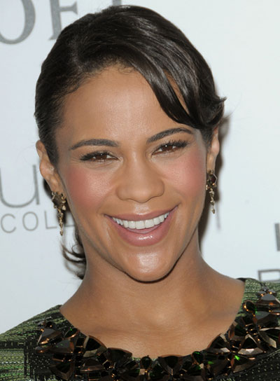 Paula Patton Romantic, Black Updo