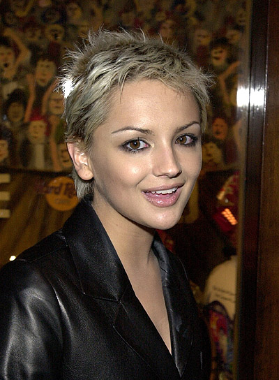 Rachael Leigh Cook Funky, Blonde, Short Hairstyle