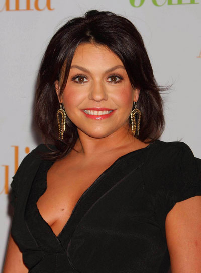 Rachael Ray Medium, Straight, Brunette Hairstyle