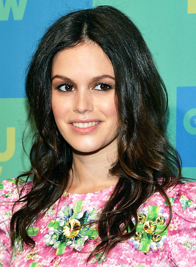 Rachel Bilson Long, Curly, Brunette, Romantic Hairstyle
