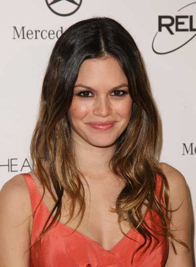 Rachel Bilson's Long, Wavy, Tousled, Layered, Brunette Hairstyle