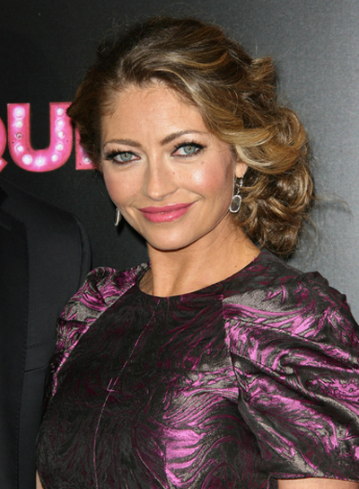 Rebecca Gayheart Romantic, Chic, Formal, Prom Updo