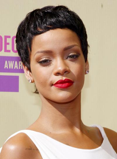 Marvelous Short Black Hair Rihanna Short Hair Fashions Short Hairstyles Gunalazisus