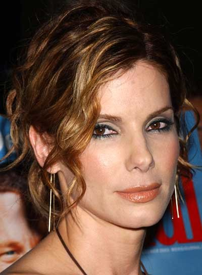 Sandra Bullock Formal Updo