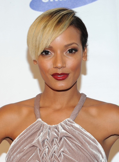 Selita Ebanks Short, Funky, Edgy Hairstyle