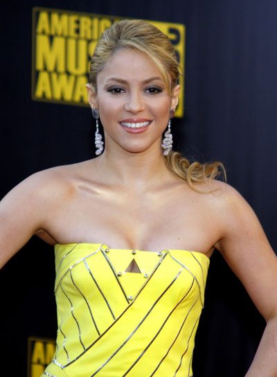 Shakira Sophisticated, Curly, Ponytail