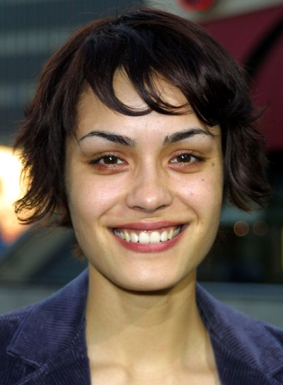 Shannyn Sossamon Short, Brunette Hairstyle