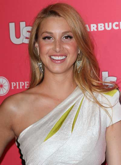 Whitney Port Blonde Hairstyle